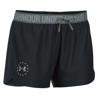 Under Armour HeatGear Freedom Shorts Black / Steel