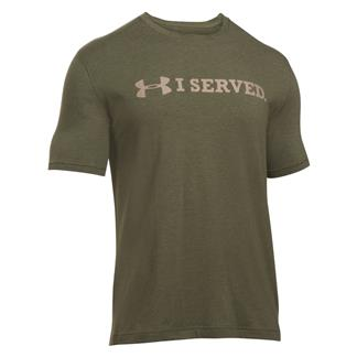 Under Armour I Served T-Shirt Marine OD Green / Desert Sand