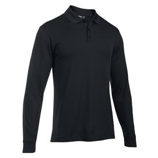 Under Armour Long Sleeve Performance Polo Black / Black