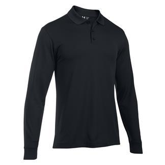 Under Armour Long Sleeve Performance Polo Black / Black