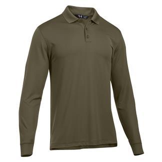 Under Armour Long Sleeve Performance Polo Marine OD Green / Marine OD Green
