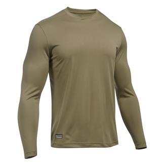 Under Armour Tactical Tech Long Sleeve T-Shirt Army Tan