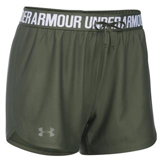 Under Armour Play Up Shorts Downtown Green / Foliage Green