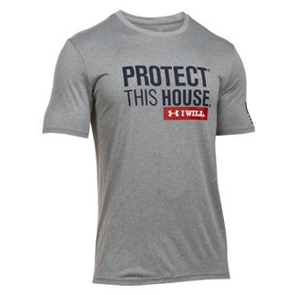 Under Armour Protect This House T-Shirt True Gray Heather / Academy