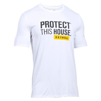 Under Armour Protect This House T-Shirt White / Black