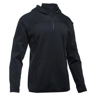 Under Armour Tactical 1/4 Zip Hoodie Black / Black