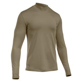 Under Armour Tactical ColdGear Mock Shirt Army Tan