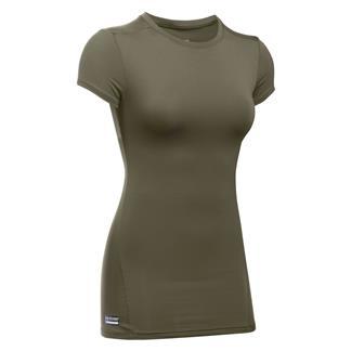 Under Armour Tactical HeatGear Compression Shirt Marine OD Green