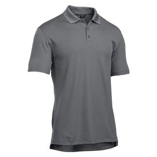 Under Armour Tactical Performance Polo Graphite / Graphite