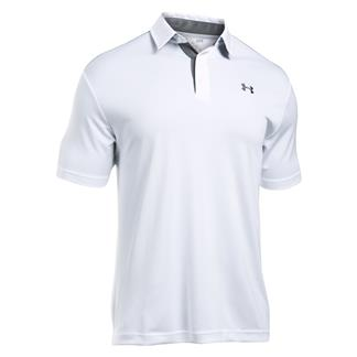 Under Armour Leaderboard Polo White / Graphite