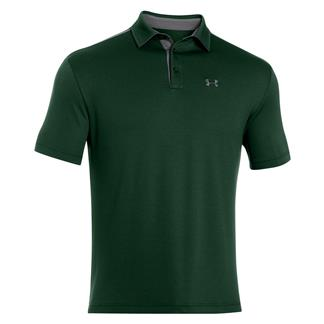 Under Armour Tech Polo Forest Green