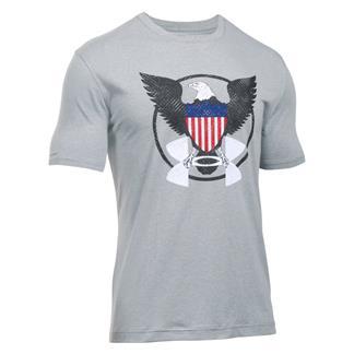 Under Armour USA Eagle T-Shirt True Gray Heather / Academy