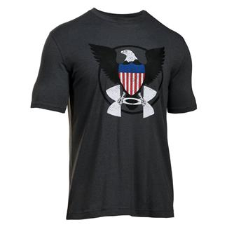 Under Armour USA Eagle T-Shirt Carbon Heather / Red