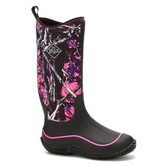 Muck Hale WP Black / Muddy Girl Camo