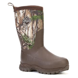 Kids' Muck Rugged II WP Brown / Realtree Xtra