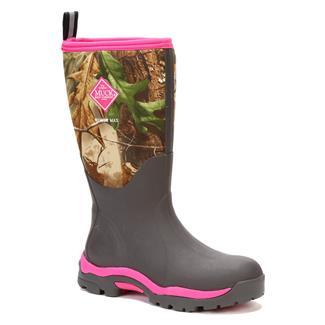 Muck Woody PK WP Bark / Realtree APG / Hot Pink