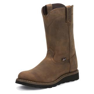 "Justin Original Work Boots 10"" Worker II Round Toe Wyoming"