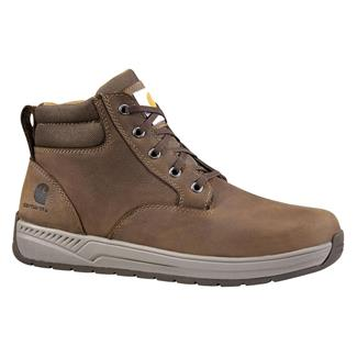 "Carhartt 4"" Lightweight Wedge Dark Bison Brown"