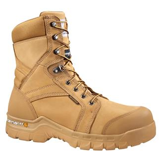 "Carhartt 8"" Rugged Flex 400G WP Wheat Oil"