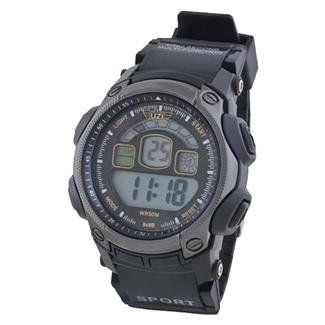 Uzi Digital Watch 848 Black / Gray