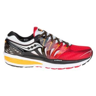 Saucony Hurricane Iso 2 Red / White / Orange