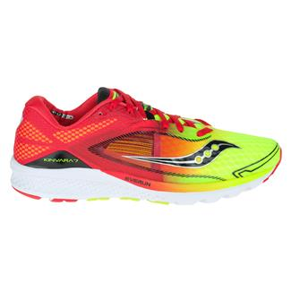 Saucony Kinvara 7 Red / Citron