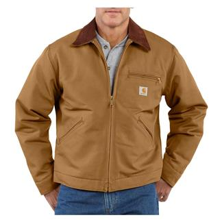 Carhartt Duck Detroit Jacket Carhartt Brown