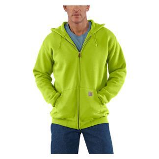 Carhartt Midweight Front Zip Hoodie Sour Apple