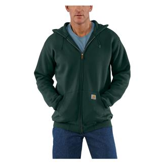 Carhartt Midweight Front Zip Hoodie Canopy Green