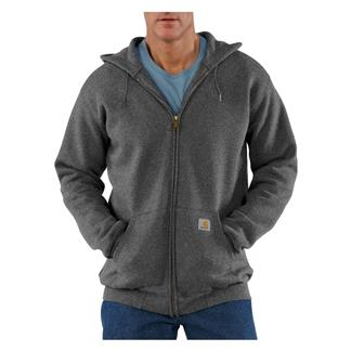 Carhartt Midweight Front Zip Hoodie Charcoal Heather