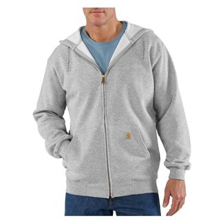 Carhartt Midweight Front Zip Hoodie Heather Gray