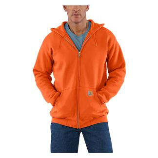 Carhartt Midweight Front Zip Hoodie Orange