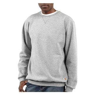 Carhartt Midweight Crewneck Sweatshirt Heather Gray