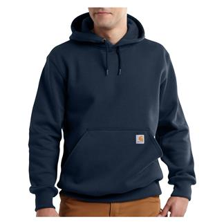 Carhartt Rain Defender Paxton Heavyweight Hoodie New Navy