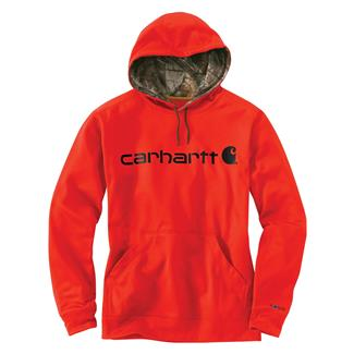 Carhartt Force Extremes Signature Logo Hoodie Energetic Orange