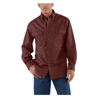 Carhartt Oakman Work Shirt Dark Cedar