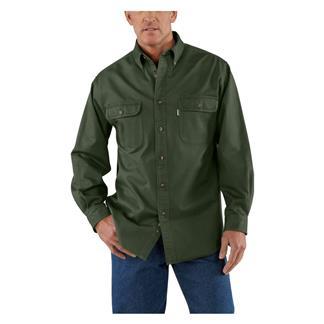 Carhartt Oakman Work Shirt Moss