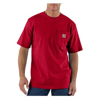 Carhartt Workwear Pocket T-Shirt Red