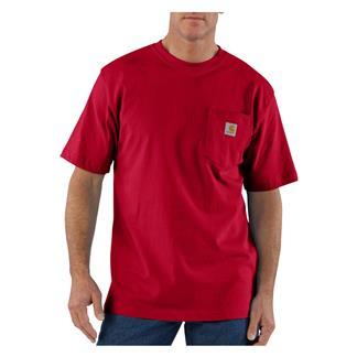 Carhartt Workwear Pocket T-Shirt Red