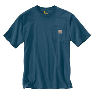 Carhartt Workwear Pocket T-Shirt Stream Blue