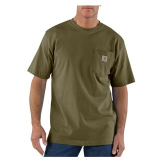 Carhartt Workwear Pocket T-Shirt Army Green