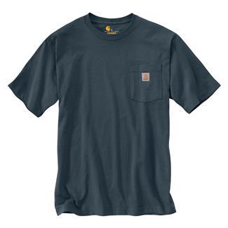 Carhartt Workwear Pocket T-Shirt Bluestone