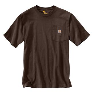 Carhartt Workwear Pocket T-Shirt Dark Brown