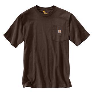 Carhartt Workwear Pocket T-Shirt Dark Brown