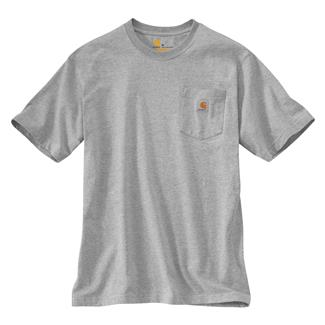 Carhartt Workwear Pocket T-Shirt Heather Gray