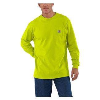 Carhartt Long Sleeve Workwear Pocket T-Shirt Sour Apple