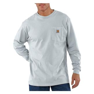 Carhartt Long Sleeve Workwear Pocket T-Shirt Ash