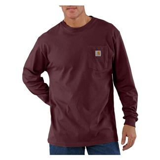 Carhartt Long Sleeve Workwear Pocket T-Shirt Port