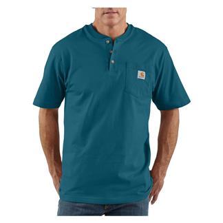 Carhartt Workwear Pocket Henley Stream Blue
