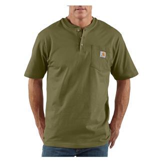 Carhartt Workwear Pocket Henley Army Green